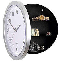 Wall Clock With Hidden Safe: Send Diwali Gifts to Gurgaon