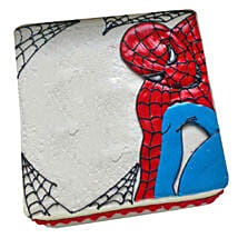 Web of Spiderman Cake: Cake Delivery in Ponnani