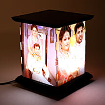Wooden Personalized LED Lamp: Diwali Gifts for Wife