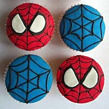 World of Spiderman Cupcakes: Send Cup Cakes