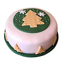 Xmas Tree Fondant Cake: Christmas Gifts? Delhi