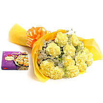 Yellow Carnations: Send Flowers & Sweets to Indore