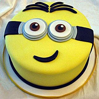 Yellow Minion Cake: Designer Cakes to Ghaziabad