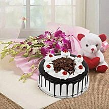 You are Always Special: Romantic Flowers & Cakes