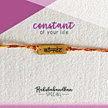 You Are My Constant Rakhi & Card: Rakhi Gifts to Purnia