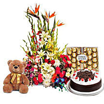 You Deserve the Best: Flowers & Chocolates for Birthday