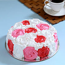 Yummy Colourful Rose Cake: Cakes to Aizawl