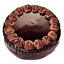 Yummy Special Chocolate Rambo Cake: Send New Year Cakes to Kanpur