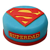 Yummy Super Dad Special Cake: Send Chocolate Cakes to Pune