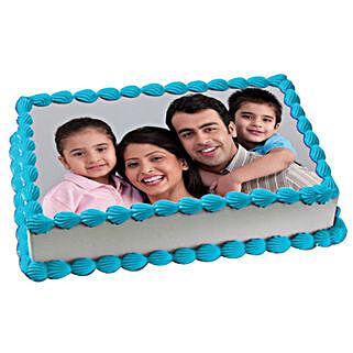 Yummy Vanilla Photo Cake: Photo Cakes to Ludhiana