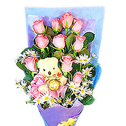 Beauty N Cuteness Bouquet