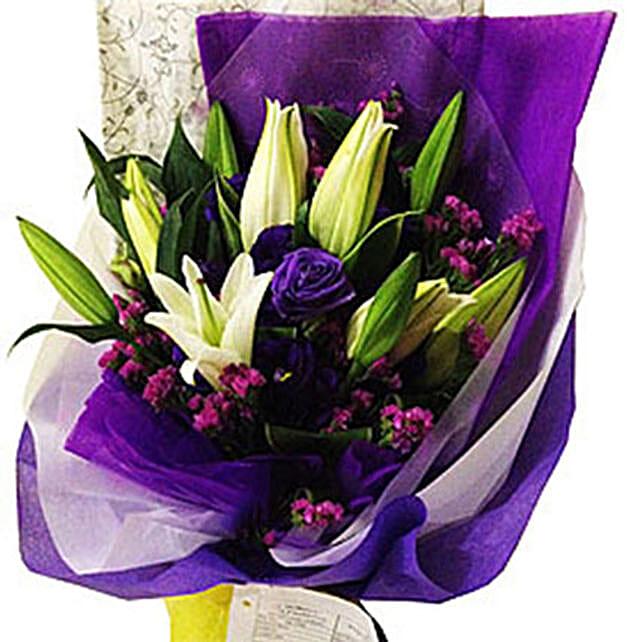 Casa Lilies Bouquet