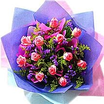 An Exotic Rose Arrangement: Valentine Gift Shopping Malaysia