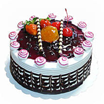 Blueberry Topped Cake: Christmas Cakes Delivery In Malaysia