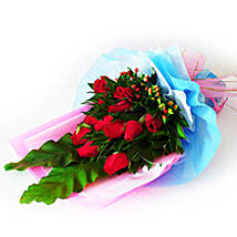 Exemplary Rose Bouquet: Fathers Day Gifts to Malaysia