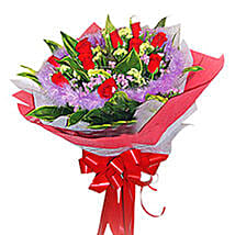 Fancy and Amazing Rose Bouquet: Congratulations Flowers to Malaysia
