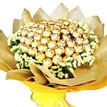 Golden Bouquet Of Chocolates: Send Birthday Gifts to Malaysia
