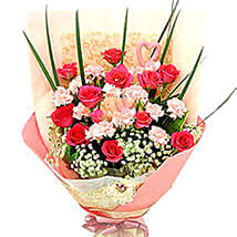 Love N Admiration Bouquet: Christmas Gifts Delivery In Malaysia