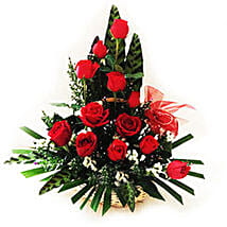 Splendid Rose Arrangement: Congratulations Flowers to Malaysia
