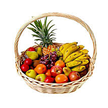 Basket Of Fresh Fruits: Gift Hampers to Mauritius