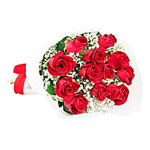 Classic Red Roses: Flower Bouquet to Mauritius