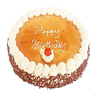 Vanilla Mocha Cake: Anniversary Cake Delivery in Mauritius