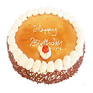 Vanilla Mocha Cake: Birthday Gifts to Mauritius