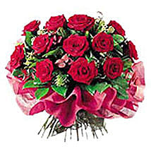 Deluxe Rose Bouquet: Love & Romance Gifts to Nepal