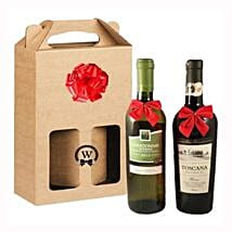 Classic Dual Italian Wines: Corporate Hampers to Netherlands