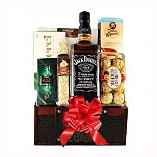 Jack Daniels Gift Basket: Send Gifts to Netherlands