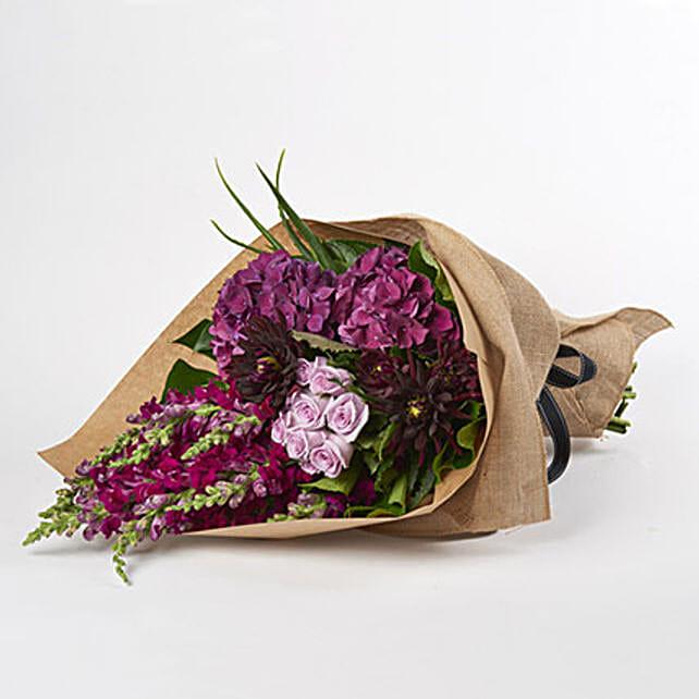 Soothing Violet Flowers
