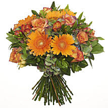 Bright Citrus Bouquet: Romantic Gifts to New Zealand