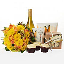 Bright N Beautiful Hamper: Romantic Gifts to Nz