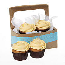 Caramel Salted Cupcakes: Mother's Day Gifts to New Zealand