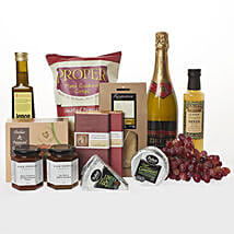 Celebratory Moments Hamper: Romantic Gifts to New Zealand