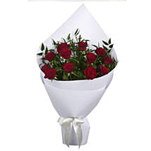 Crimson Red Roses: Mother's Day Gifts to New Zealand