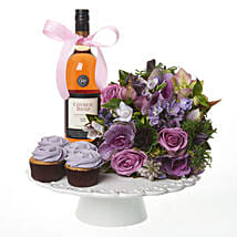 Lilac Extravaganza Combo: Romantic Gifts to Nz