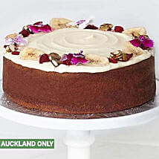 Mini Banana Chocolate Cake: Birthday Cakes To New Zealand