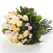 Pastel Rose Bouquet: Mother's Day Gifts to New Zealand