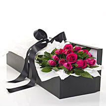 Pink Roses In A Box: Same Day Gift Delivery in New Zealand