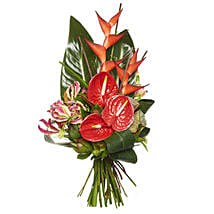 Ravishing Red Bouquet: Mother's Day Gifts to New Zealand
