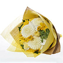 Summer Flower Posy: Congratulations Flowers to New Zealand