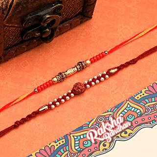 Two Set Of Rakhi: Rakhi Gifts for Brother to NZ