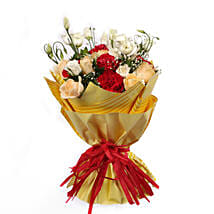 Bouquet Of Gleaming Romance: Gift Delivery in Muscat