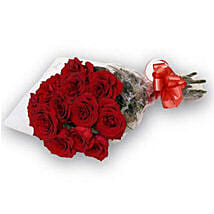Bunch of 12 Red Roses OM: Oman Florist