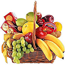 Cheese Crackers n Fruit Basket oma: Corporate Gifts to Oman