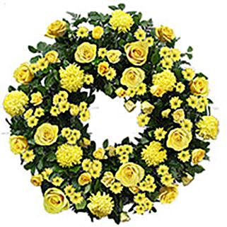 Contemporary Wreath oma: Send Bhai Dooj Gifts to Oman