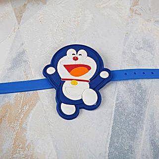 Doraemon Cartoon Rakhi: Rakhi Delivery in Oman