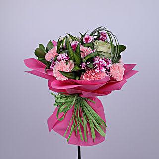 Ecstatic Flower Bouquet: Congratulations Flowers to Oman