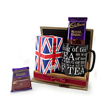 Keep Calm Tea Set: Wedding Gifts to Oman